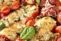 Tasty Chicken & Turkey  Recipes / Great chicken or turkey recipes for home cooking or company.