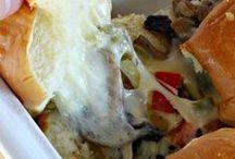 Fun Sandwiches, Wraps & Pinwheels / Tortilla roll ups and wraps, grilled sandwiches, and sandwich fillings.