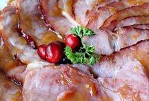 Succulent Pork Recipes / Ham, pork roast, pork chops - some great ways to use pork.