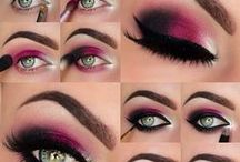 Make-up, accessories & hair ideas / Inspirational make-up ideas I like