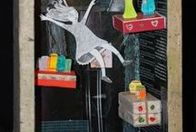 Iris Biran's 3D paper art