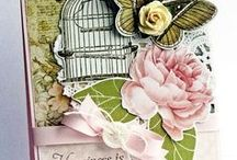 shabby chic cards / by Marlou McAlees