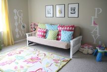 Play Room/Guest Room / by Amanda O'Rourke