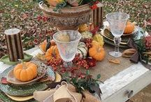 Fall Decorations / Fall Ideas to help you decorate your home for a warm and comfortable space.