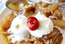 Tempting Apple Recipes :-) / Let me tempt you with lots of luscious apple recipes: Apple Cakes, Apple Pies, Apple Cobblers, Apple Crisps, Apple Desserts, Apple Muffins, Apple Breads, Apple Salads, and apples in casseroles. Yum, yum, good.