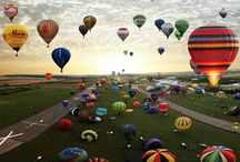 Hot Air Balloons / Just because I've been fascinated with them since I was a little girl...