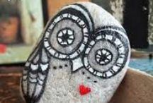 Owls / A collection of handmade owl items and images of owls