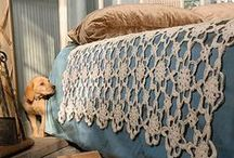 Vintage Crochet / Vintage bedspreads, doilies, tablecloth patterns and inspiration. Memories of your Grandma's house.