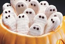 Halloween Treats and Drinks / Halloween treats, party foods and drinks