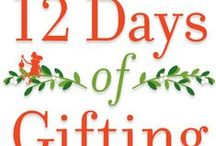 12 DAYS OF GIFTING / Welcome to 12 days of gourmet gift giveaways! Check this board daily throughout December to see what gift we are giving away. We will post a photo and the link to enter. Drawings are random. Happy Holidays!