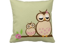 For the Home / Fun cushions, plates, napkins, tablemats, placemats, throw pillows for the home