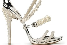Wedding Shoes | The Daily Shoe / Here comes to bride... Stunning shoes for brides and retinues. / by The Daily Shoe