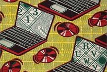Fabric, wallpaper, pattern