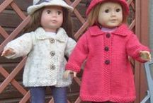 DIY American Girl Doll Stuff / I wish I had a daughter so I could make zillions of clothes for her dolls...
