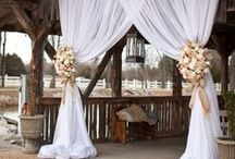 Rustic Theme For Your WEDDING / Rustic weddings both in outdoor and indoor, Wedding Styling,natural items & colours,wood combined with taupe & brown colours. Family style tables,countrystyle