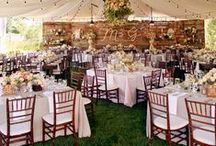 Wedding Set-Up Inspiration / Find some inspiration on how to set up your wedding reception / dinner / ceremony..