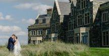 INSPIRATION FOR YOUR Dream Irish Wedding / Real Weddings clients spectacular Irish Castles, Manor houses, Coastal Retreat & Resort Weddings
