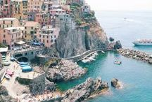 Cinque Terre / Many collected celebrations thrown into this trip that we want to take in a few years.