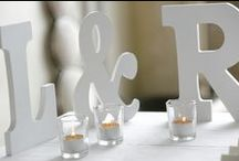 Neutral/All White Theme Weddings / Inspiration for an all white / neutral wedding