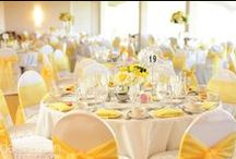 Yellow Colour Wedding Inspiration / All things yellow for your colourful wedding