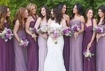 Purple Colour / Flowers, Decor, Cakes, Gowns all purple