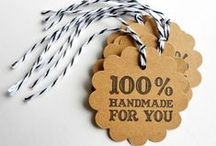 Tags for Handmade Items / by Pepper Hayes