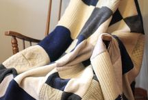 Sweaters & wool reinvented / Ways to reuse old sweaters, wool jackets, skirts, etc.  / by Carrie French