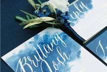 Wedding Stationery Ideas / Inspiration for all wedding styles & themes, colourful invitations, traditional invitations, original & creative stationery...