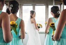 Scuba/Aqua Blue Colour Palette for your Wedding / Summer spirit with this magic colour. Great inspiration for your summer wedding in Ireland!