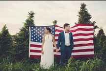 4th July Wedding / A special thought for our American Brides and Grooms on this IndependenceDay