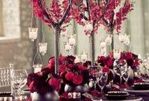Marsala Colour WEDDING Inspiration / Brides do you want a trendy wedding? Choose Marsala the Pantone's colour as a theme for your big day!