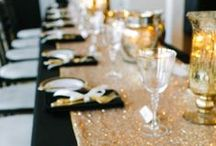 Gold Colour Wedding Inspiration / Brides, if you want a sparkling wedding you should seriously consider to have a Golden Wedding!