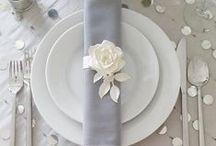 Silver Colour Themed Wedding / Brides for a stunning wedding - Opt for a Silver Colour Themed Wedding!