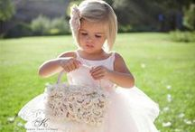 Flower Girl Look / Want your flower girl to look even cuter? Check out this board for more inspiration on outfits and accessories