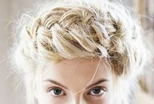 Wedding Hair / Potential wedding hair options for bride and bridesmaids