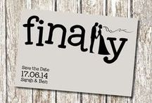 Save The Date Ideas / Ideas for every kind of wedding