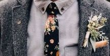 Grooms Attire Trends 2018 / luxurious wedding suits, floral ties, velvet suits, double breasted jackets...
