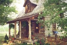 Rustic Home Comforts / Love in the Rustic-ness......