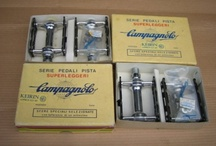 Campagnolo NJS keirin racing parts and Campagnolo parts / by Gordon Knight