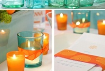 'Orange' Weddings / A collection of images used for our Orange Weddings Mood Board.