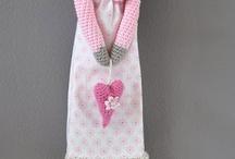 Dolls, crochet ,felted,sewing Tilda/ gehaakte popjes)Viltpopjesc