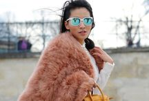 Wear // Fur / Street style inspiration featuring furry accents