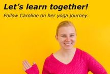Caroline's Yoga Journey #CBYogaJourney / We'll be following our very own Caroline as she embarks on her yoga journey...Posting each day a new pose she has learned and the struggles along the way. To view her entire journey type in #CBYogaJourney