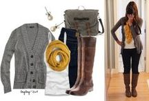 Fall & Winter Fashion / easy wardrobe ideas I'd like to replicate for fall & winter