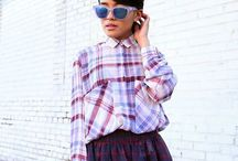 WEAR // Plaid / Plaid streetstyle inspiration