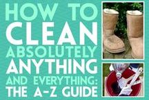 Cleaning & Organizing / Cleaning & organizing tips & tricks.