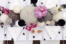 A Yarn Lovers Wedding / Wedding inspiration centered around the many uses of yarn