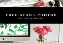 Blog Freebies / Online freebies for your blog from inspiration board templates to blog themes