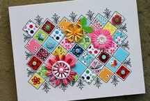 Cards/Punch/Stamp Ideas / by Judy Wright