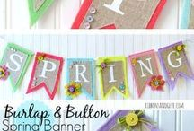 Spring  Ideas / Food, fun, recipes, decorations to bring on the beautiful Spring Weather!